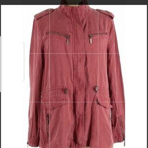 Max jeans tencel utility jacket.